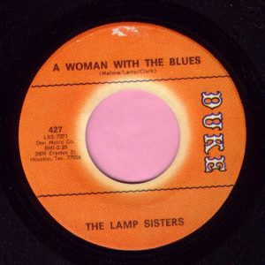 "The Lamp Sisters "" A Woman With The Blues "" Duke Vg+"