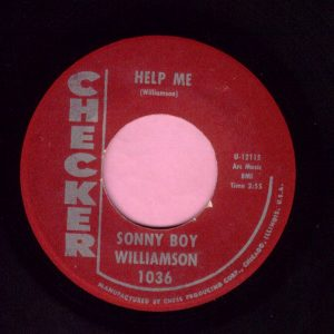 "Sonny Boy Williamson "" Help Me "" Checker Vg+"