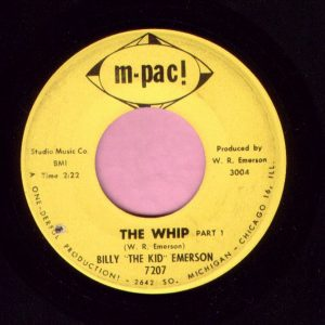 "Billy "" The Kid "" Emerson "" The Whip "" M-Pac Vg+"