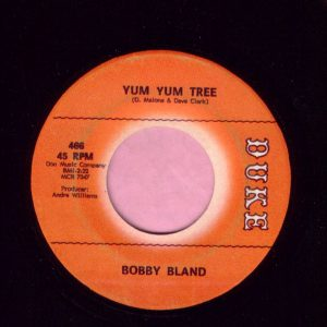 "Bobby Bland "" Yum Yum Tree "" Duke Vg"