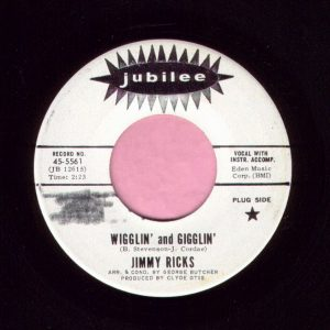 "Jimmy Ricks "" Wigglin' And Gigglin' "" Jubilee Demo Vg+"