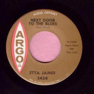 """Etta James """" Next Door To The Blues """" Argo Vg+"""