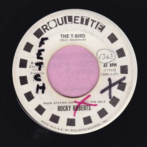 "Rocky Roberts "" The T-Bird "" Roulette Demo Vg+"