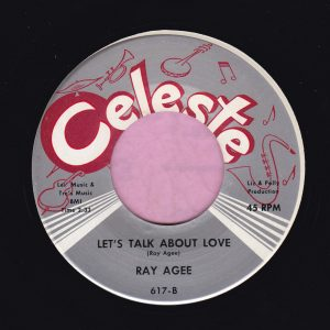 """Ray Agee """" Let's Talk About Love """" Celeste Vg+"""
