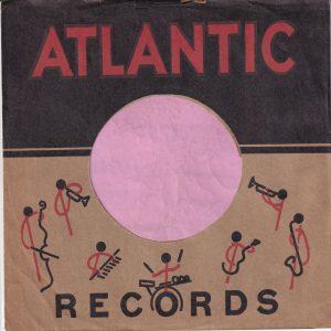 Atlantic Exclusive Artists U.S.A. Company Sleeve 1952 – 1953
