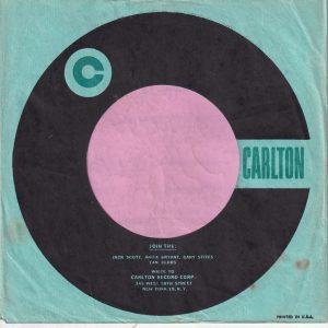 Carlton U.S.A. Join The Fan Club Details Company Sleeve 1958 – 1964