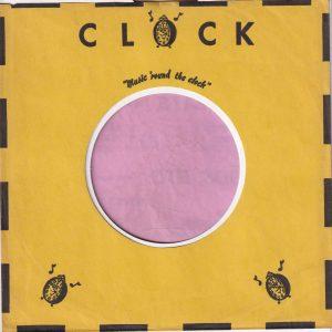 Clock U.S.A. Company Sleeve 1961