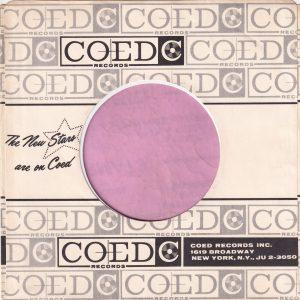 Coed Records U.S.A. Company Sleeve 1960 – 1963