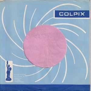 Colpix Blue Bottom Line U.S.A. Company Sleeve 1961 – 1963