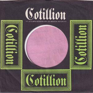 Cotillion U.S.A. Company Sleeve 1969 – 1972