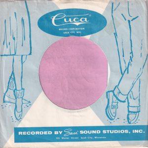 Cuca U.S.A. Company Sleeve Blue 1959 – 1963