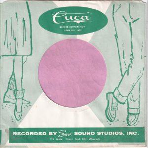 Cuca U.S.A. Company Sleeve Green 1959 – 1963