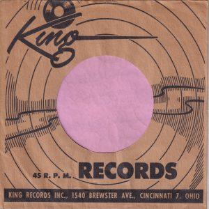 King Brewster Ave. U.S.A. Company Sleeve Black 1949 – 1953