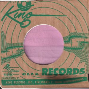 King Federal Deluxe Cincinati 7 Address U.S.A. Company Sleeve Green 1953 – 1958