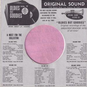 Original Sound U.S.A. Company Sleeve 1964 – 1968