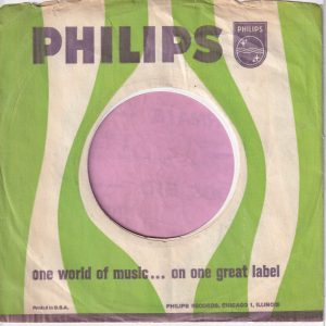 Philips U.S.A. Company Sleeve 1962