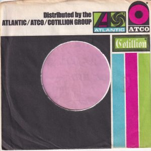 Atlantic Atco Cotillion Group U.S.A. Company Sleeve 1973