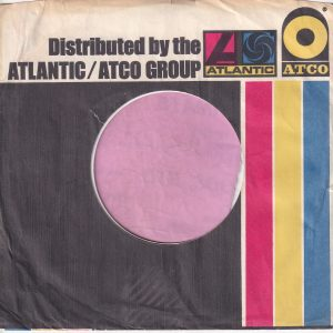 Atlantic Atco Group U.S.A. Company Sleeve 1973 – 1978