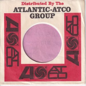 Atlantic Atco Group U.S.A. No Address Company Sleeve 1965 – 1966