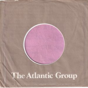 Atlantic Group U.S.A. Address Details In Short Text Company Sleeve 1978 – 1980