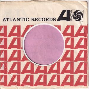 Atlantic Records U.S.A. No Address Company Sleeve 1965 – 1971