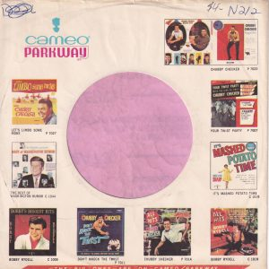 Cameo Parkway U.S.A. With Lp Thumbnails Company Sleeve 1963 – 1967