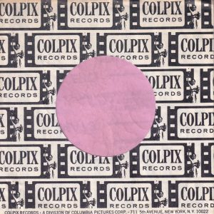 Colpix Records 5th Avenue N.Y. Adress U.S.A. Company Sleeve 1963 – 1966