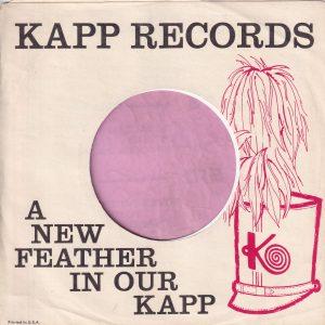 Kapp Records U.S.A. Company Sleeve 1961 – 1962