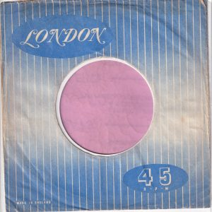 London U.K. Company Sleeve 1954 – 1960