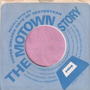 Motown Story U.S.A. Company Sleeve 1971 – 1972