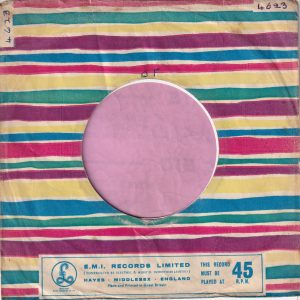 Parlophone U.K. Company Sleeve 1960 – 1962