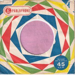 Parlophone U.K. Company Sleeve 1962