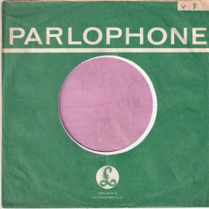 Parlophone U.K. Company Sleeve 1963 – 1964