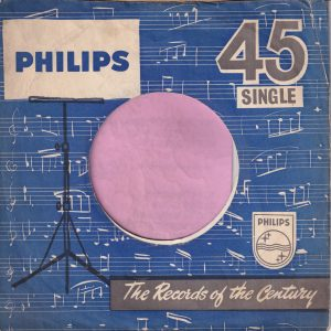 Philips U.K. Company Sleeve 1958 – 1960