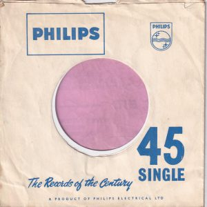 Philips U.K. Company Sleeve 1958