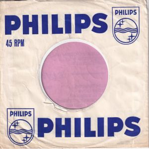 Philips U.K. Company Sleeve 1963 – 1964