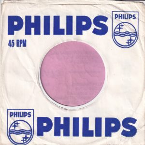 Philips U.K. Company Sleeve 1964 – 1968