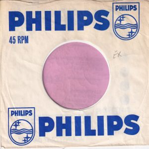 Philips U.K. Company Sleeve 1969 – 1970