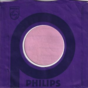 Philips U.K. Company Sleeve 1970 – 1973