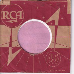 RCA U.K. Company Sleeve 1959 – 1960