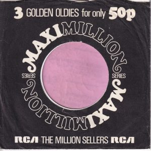 RCA Maxi Million Series U.K. Company Sleeve 1971 – 1975