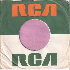 RCA U.K. Company Sleeve Large Logo , Advert 1970 – 1975