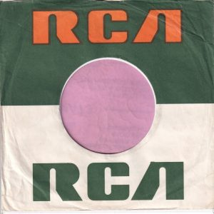 RCA U.K. Company Sleeve Small Logo , Advert 1969 – 1975