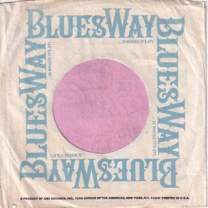 Bluesway U.S.A. Company Sleeve 1967 – 1969
