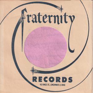 Fraternity Records U.S.A. Company Sleeve 1962 – 1974