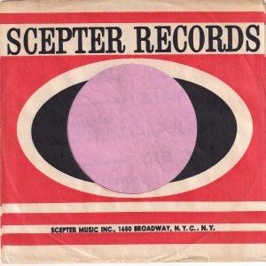 Scepter Records U.S.A. 1650 Broadway Address  Company Sleeve 1961 – 1965