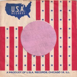 U.S.A. Records U.S.A. Company Sleeve 1964 – 1969