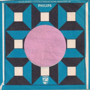 Philips U.S.A. Company Sleeve 1967 – 1972