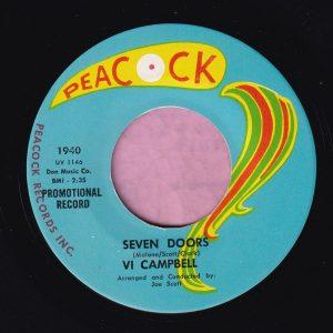 "Vi Campbell "" Seven Doors "" Peacock Demo Vg+"