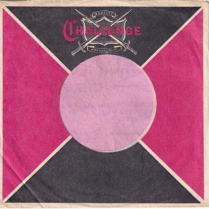 Challenge U.S.A. Company Sleeve 1965 – 1969